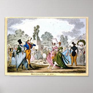 Monstrosities av affisch 1822 poster