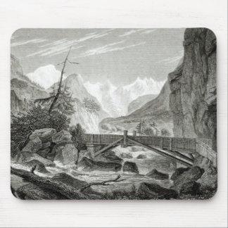 Mont Blanc från baden av St. Didier Musmatta