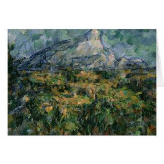 Mont Sainte-Victoire, 1904-05 Hälsningskort