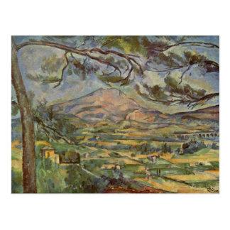 Mont Sainte-Victoire av Paul Cézanne Vykort