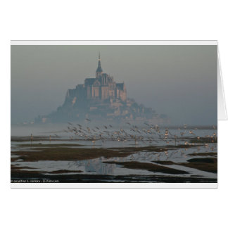Mont Sanktt Michel Hälsningskort