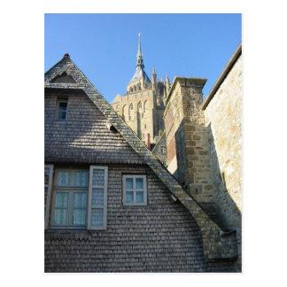 Mont-Sanktt-Michel Vykort