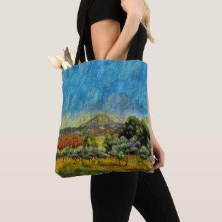 """""""Montagne Sainte Victoire"""" vid Renoir Tygkasse"""