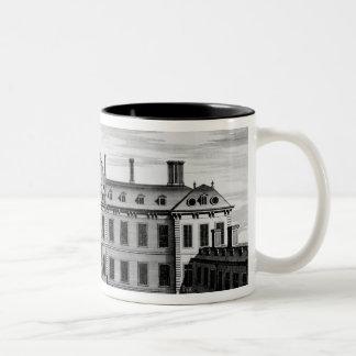 Montague hus, underbar Russell gata Två-Tonad Mugg