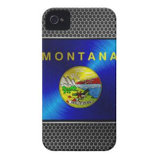 Montana borstade metallflagga Case-Mate iPhone 4 skydd