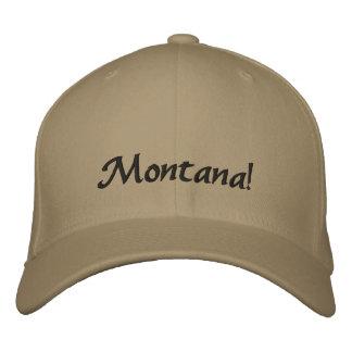 Montana! Broderad hatt Broderad Keps