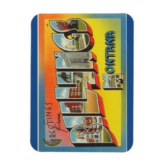 Montana faktureringsmagnet magnet