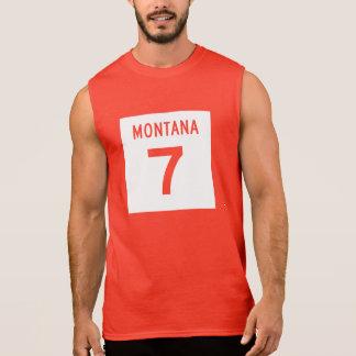 Montana huvudväg 7 ärmlösa tröjor