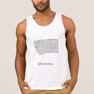Montana karta tanktop