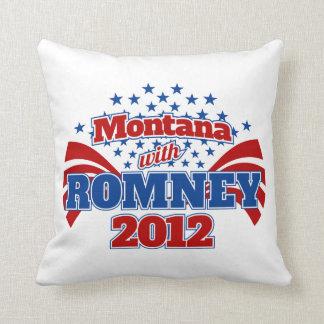 Montana med Romney 2012 Kudde