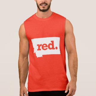 Montana republikan sleeveless t-shirts