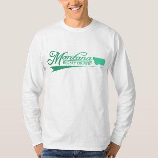 Montana som är statlig av Mine skjortor Tee Shirts