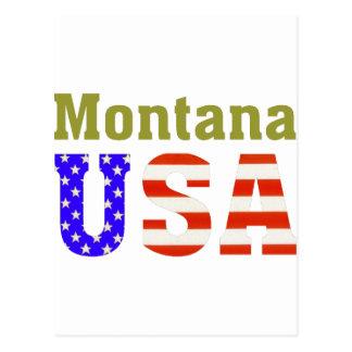 Montana USA! Vykort