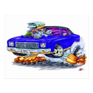 Monte 1970 - carlo blåttbil vykort