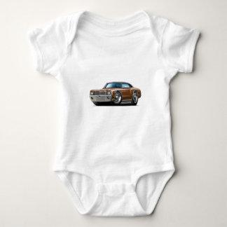 Monte 1970 - carlo Brunt-Svart bästa bil T Shirt