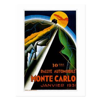 Monte - carlo 1931 vykort