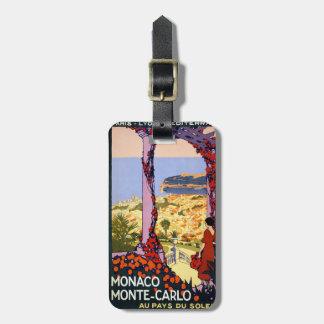 Monte - carlo bagagebricka
