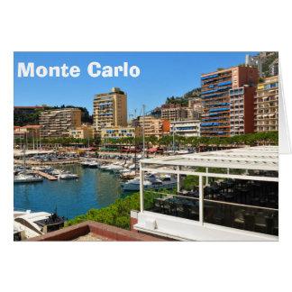 Monte - carlo i Monaco Hälsningskort