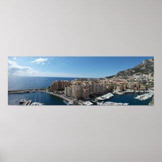 Monte - carlo, Monaco Poster