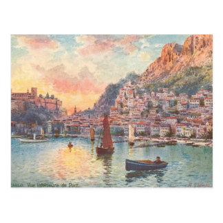 Monte - carlo port vykort