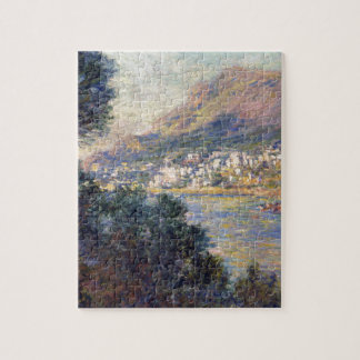 Monte - carlo som ses från Roquebrune av Claude Pussel