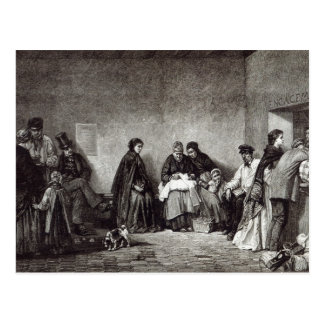 """Monten de Piete, från """"fritidtimme"""", 1891 Vykort"""