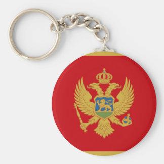 Montenegro Rund Nyckelring