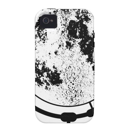 Monterat Lunar jordklot på den roterande iPhone 4 Fodral
