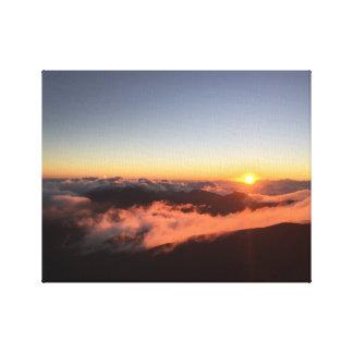 Montering Haleakala Canvastryck