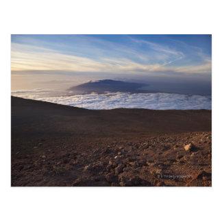 Montering Haleakala, Haleakala nationalpark, Maui, Vykort