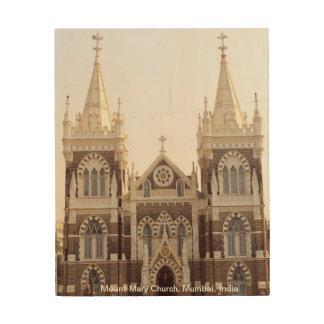 MonteringsMary kyrka, Mumbai Trätavla