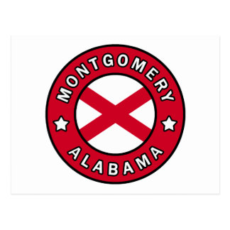 Montgomery Alabama Vykort