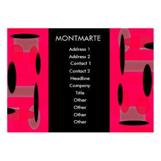 Montmarte kanske Retro visitkort