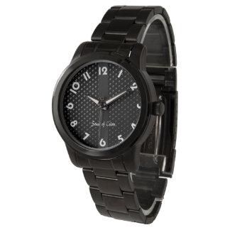 """Montre bracelet """"Noire Élégance"""" Armbandsur"""
