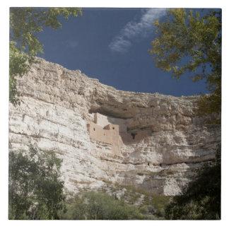 Monument för Montezuma slottmedborgare, Arizona 2 Kakelplatta