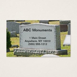 Monument Företag visitkort