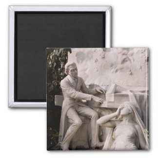 Monument till Frederic Chopin Magnet