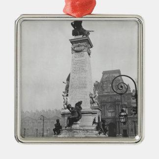 Monument till Leon Gambetta Julgransprydnad Metall