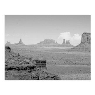 Monumentdal (svartvita) 2 vykort