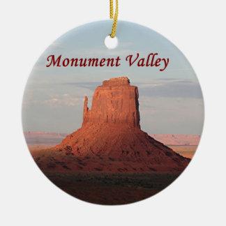 Monumentdal, Utah, USA 6 (förse med text), Julgransprydnad Keramik