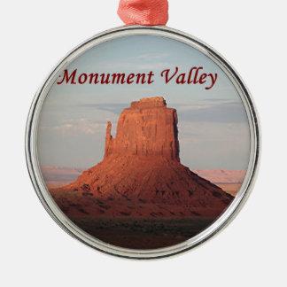 Monumentdal, Utah, USA 6 (förse med text), Julgransprydnad Metall