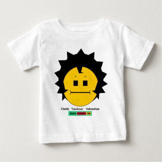 Moody StoplightTrioCharlie Yellobellow ansikte w T-shirts