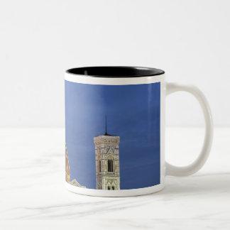 Moonrise och Florence domkyrka, Basilicadi Två-Tonad Mugg