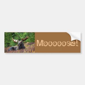 Moooose! Bildekal