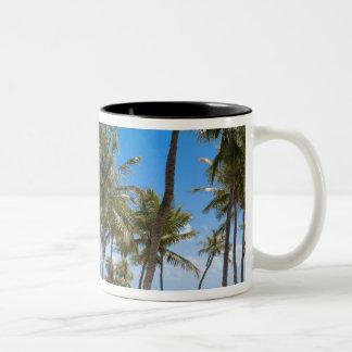 Mooringssemesterorten, maraton, Key West, 2 Två-Tonad Mugg