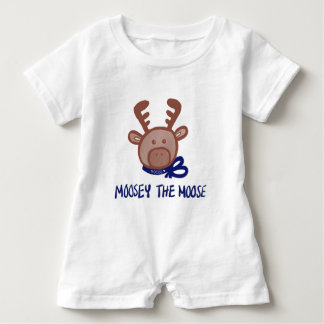 Moosey den älgKeiki Aloha romperen T Shirts
