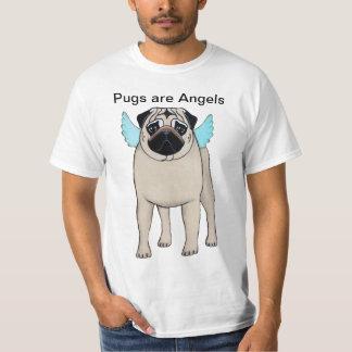 Mops är änglarT-tröja T Shirt