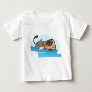 Mops för katt n t shirt