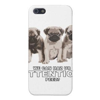 Mops kan hazuppmärksamhetiphone case iPhone 5 hud