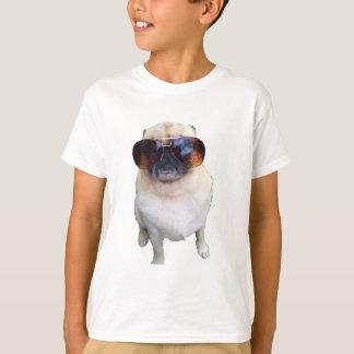 Mops med solglasögon tshirts